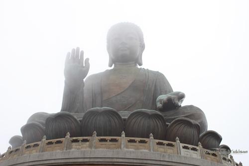 2011042704 2011香港探親血拼自由行(21)天壇大佛、寶蓮禪寺最後洗禮