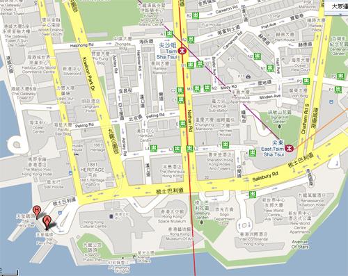 2011041022 2011香港探親血拼自由行(13)天星小輪橫渡維多利亞港