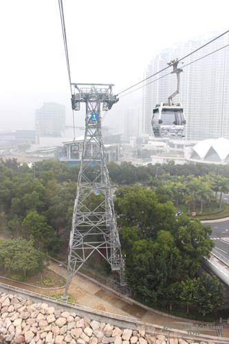 2011042016 2011香港探親血拼自由行(19)昂坪360纜車