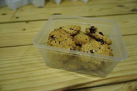 葡萄乾芝麻燕麥餅乾