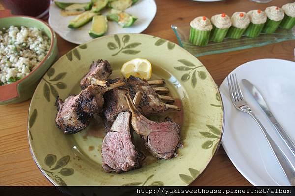 30 分鐘上菜, 摩洛哥烤羊排大餐 ~ Moroccan Lamb Chops – Jamie Oliver's 30 Minute Meals