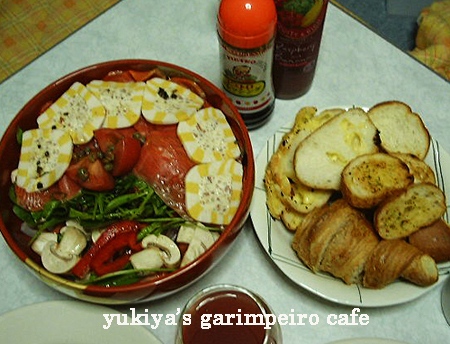 salad & breads