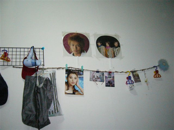 我房裡的牆