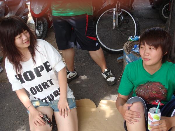 夏肥跟她朋友