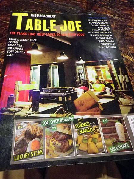 table joe