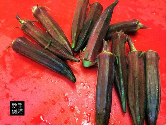 紅燒秋葵1