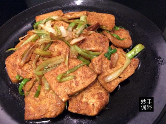 蒜燒板豆腐6