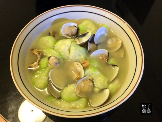 絲瓜蛤蜊6