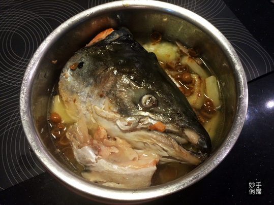 苦瓜鮭魚頭