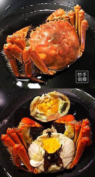 清蒸大頰蟹