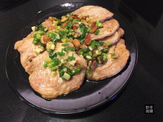 蔥燒豬排1