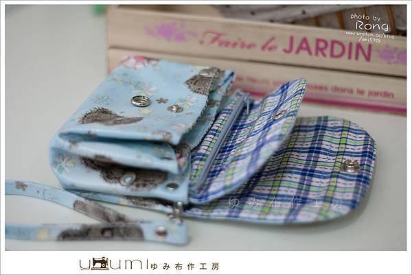 藍色小熊摺疊零錢包3