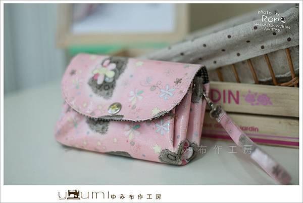 粉色小熊摺疊零錢包5