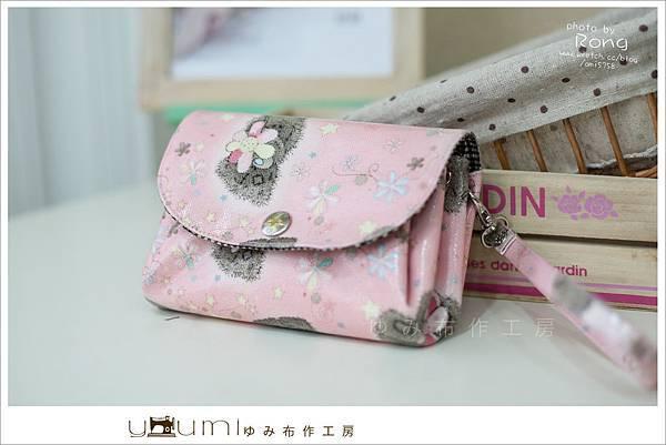 粉色小熊摺疊零錢包1