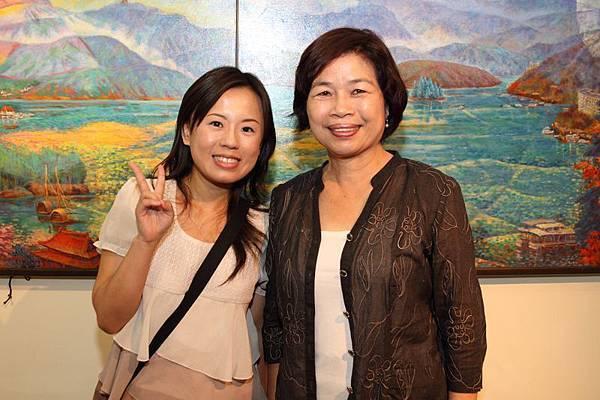 在台灣文獻館採訪相遇