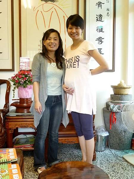 小珍是俏麗的孕媽咪