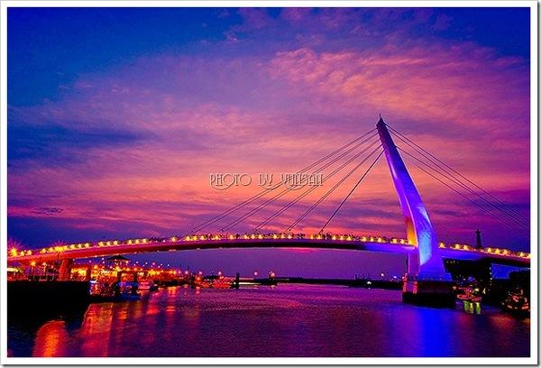 紅霞情人橋
