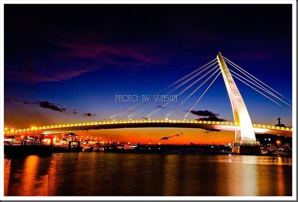 颱風前的情人橋