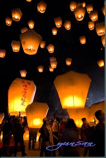 24232278:天燈讓台灣亮起來