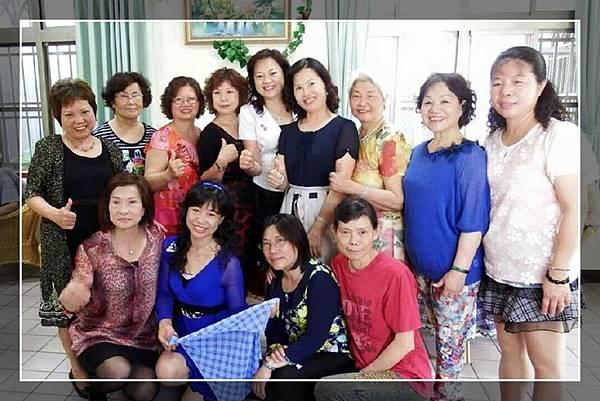 104.04.29雲林縣真善美聯誼會舉辦104年4月份榮民之家慶生活動