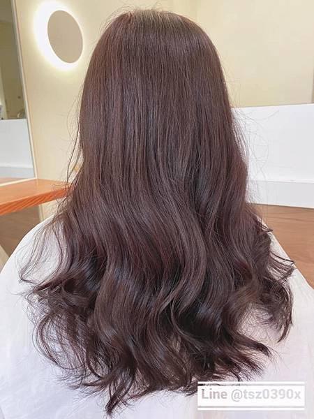 18276嘉義染髮推薦 嘉義髮廊 嘉義美髮 暖色系 嘉義燙髮