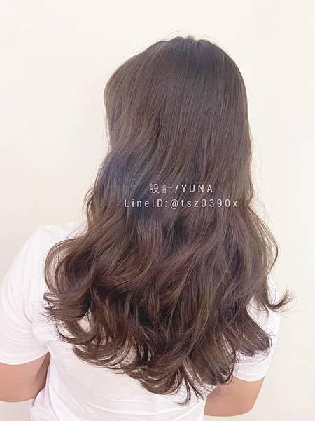 嘉義髮廊 嘉義美髮 深棕色