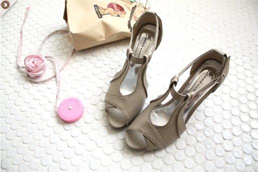 Gmarket~高跟涼鞋