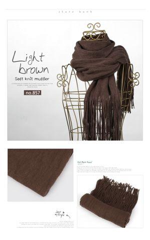 圍巾_Light brown 網頁上的圖片顏色都比較亮比較好看