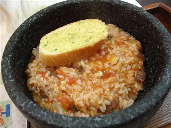 茄汁牛肉燉飯