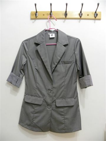 韓製七分袖西裝外套