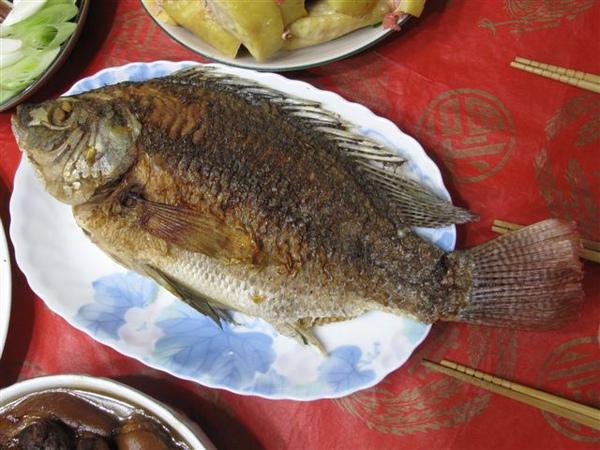 乾煎福壽魚