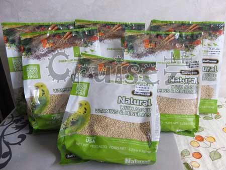 美國路比爾-蔬菜滋養大餐小型鸚鵡