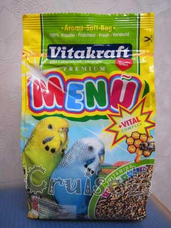 德國-Vitakraft-蜂蜜+維他命系列-小型鸚鵡主食 (1)