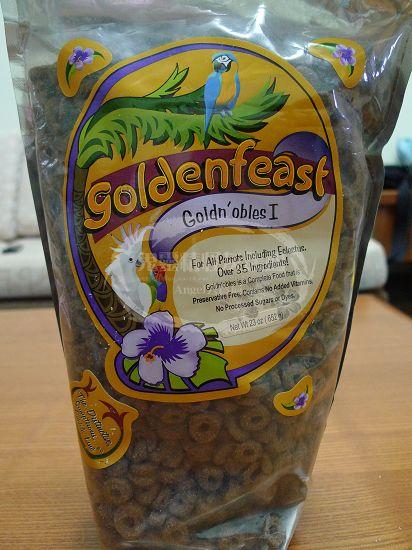 美國GOLDEN FEAST天然鸚鵡糧-Goldn'obles™
