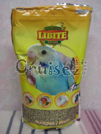 LIBITE恒欣-小型鸚鵡飼料 (1)