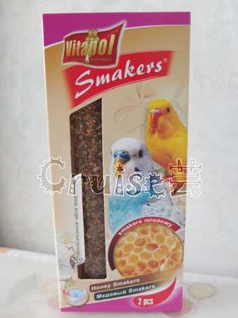 荷蘭-Vitapol-小型鸚鵡棒棒糖-蜂蜜 (1)