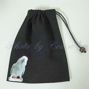 灰鸚束口袋