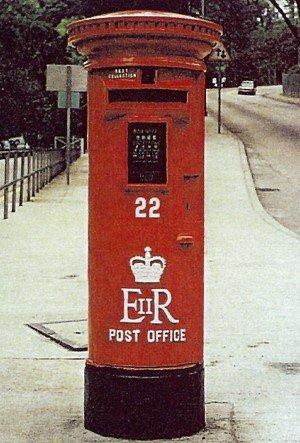 殖民地郵筒