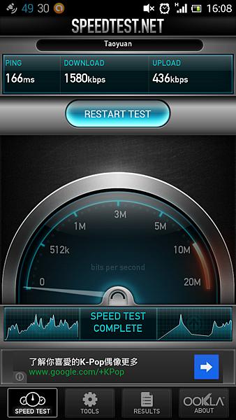 西門町 中華電信3G