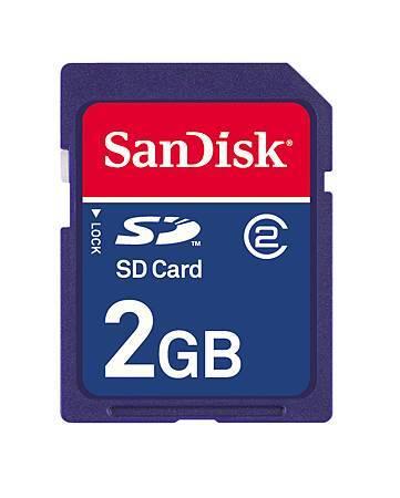 Sandisk 2 GB SD Flash Memory Card.JPG