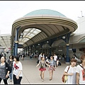 舞浜站一角