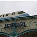迪士尼電車經過