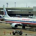 American Airline B-737 舊圖裝