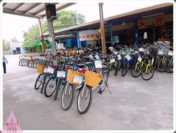 1216租腳踏車店有各式腳踏車可選擇,不想太累的話,偷偷告訴大家也有電動腳踏車可租喔!001.jpg