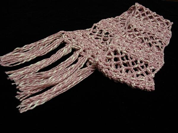 第一條鉤針圍巾