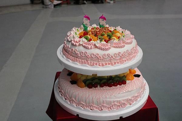 自強爸爸感恩蛋糕