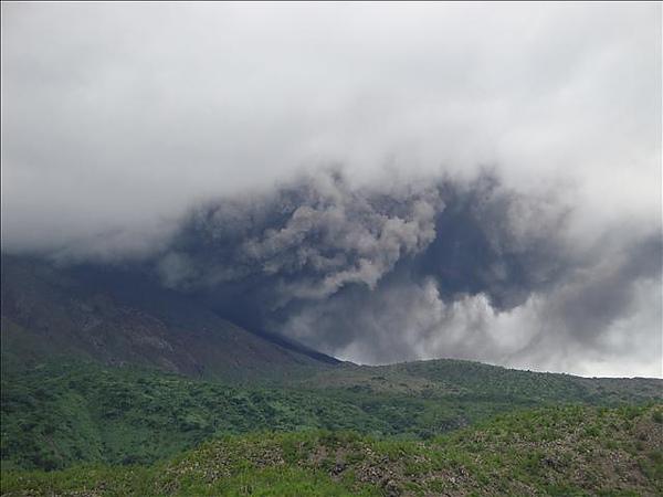 很酷的火山爆發