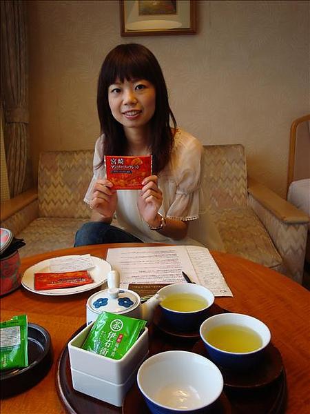宮崎特產--芒果,並不是很吸引台灣來的觀光客