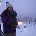 白樺湖冰雕會場