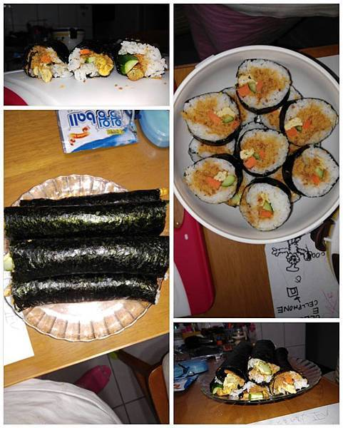 簡易海苔壽司